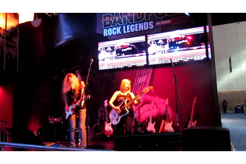 BandFuse Rock Legends E3 2012 xbox 360 - YouTube