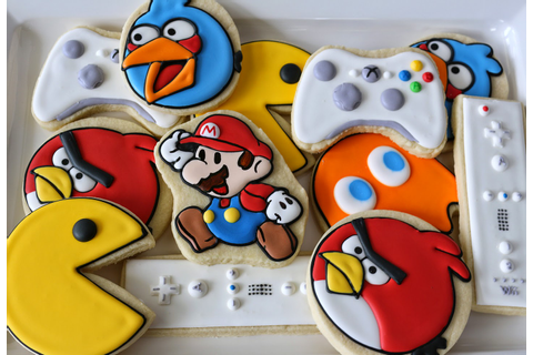 Jaclyn's Cookies: Video Game Cookies