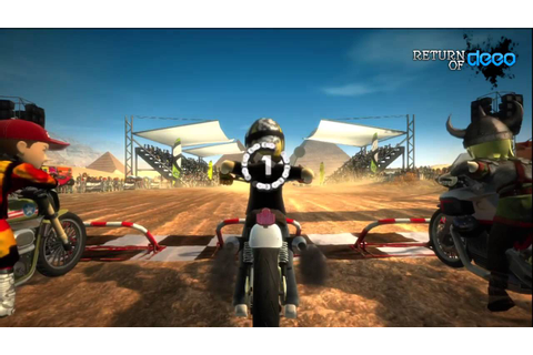 Motocross Madness | XBox Live Arcade | Game 'Review' - YouTube