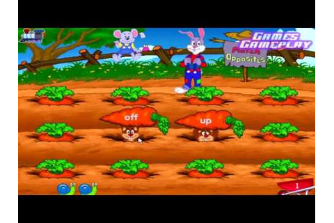 Reader Rabbit 2 : Games Gameplay - YouTube