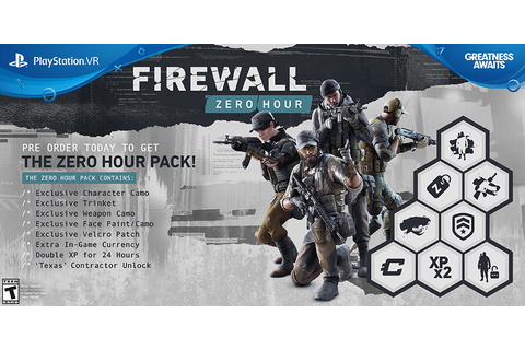 Firewall Zero Hour Game | PS4 - PlayStation