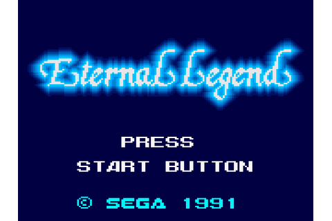 Eternal Legend Download Game | GameFabrique