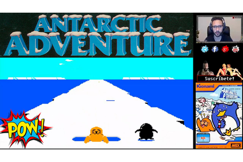 RETRO GAME | Antarctic Adventure | NES - YouTube