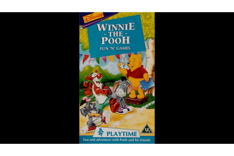 Digitized opening to Winnie the Pooh: Fun 'N' Games (UK ...