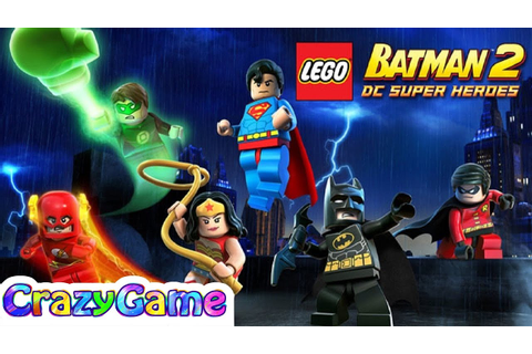 LEGO Batman DC Super Heroes Full Game Movie - All Cutcenes ...