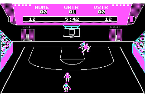 Скриншоты GBA Championship Basketball: Two-on-Two на Old ...