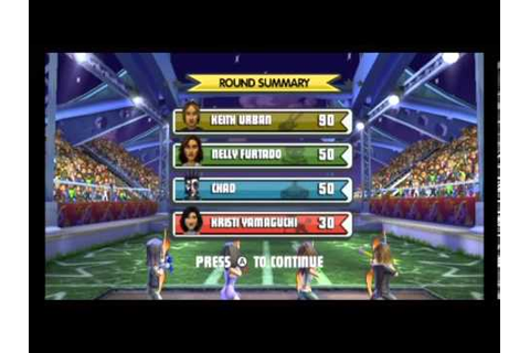 Celebrity Sports Showdown Wii Gameplay Part 2 - YouTube