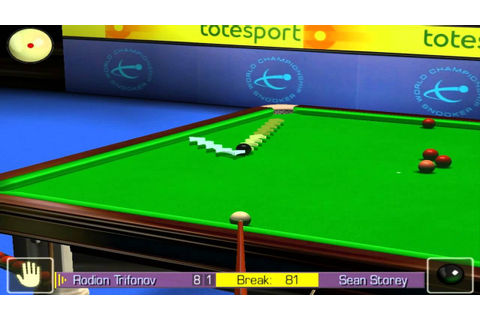 World Snooker Championship 2005 - 147 Break @ PC Game HD ...