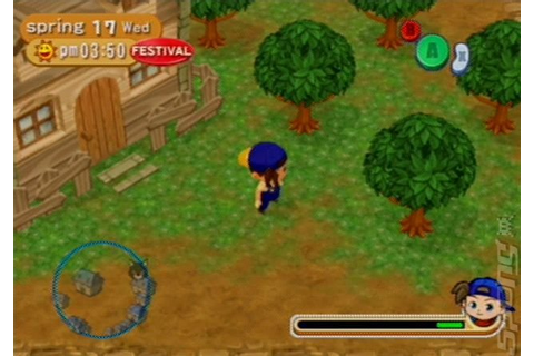 Screens: Harvest Moon: Magical Melody - GameCube (8 of 17)