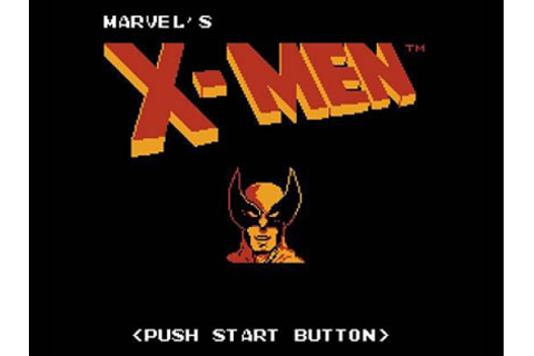 The Uncanny X-Men Review for NES (1989) - Defunct Games
