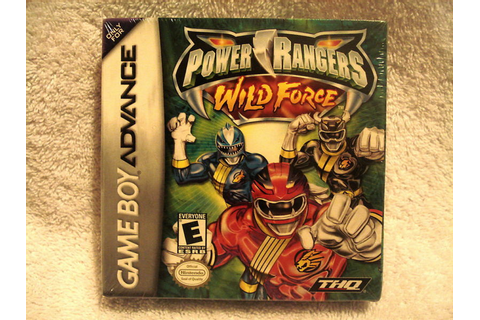 POWER RANGERS WILD FORCE GAMEBOY (GAME BOY) ADVANCE GBA ...