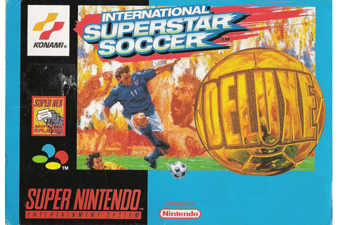 International Superstar Soccer Deluxe for Genesis (1996 ...