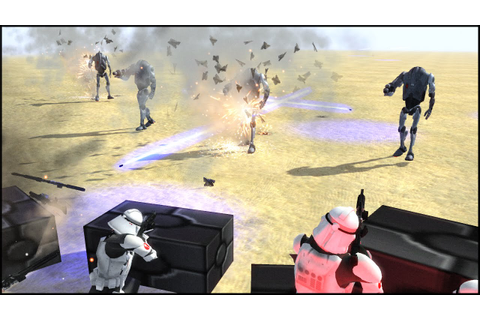 NEW WALKING SUPER BATTLE DROIDS - Star Wars: Galaxy at War ...