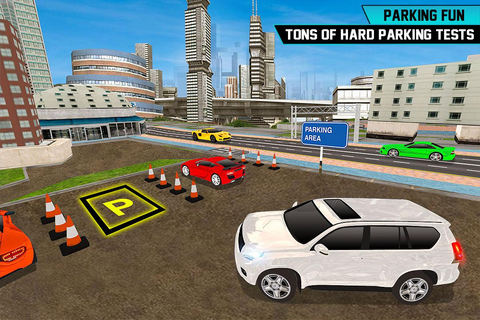 Prado Car Parking City Drive : Free Games - Android Apps ...