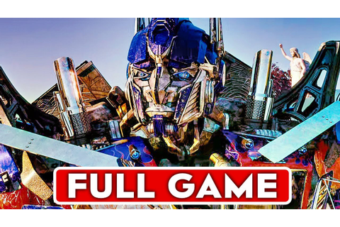 TRANSFORMERS REVENGE OF THE FALLEN Gameplay Walkthrough ...