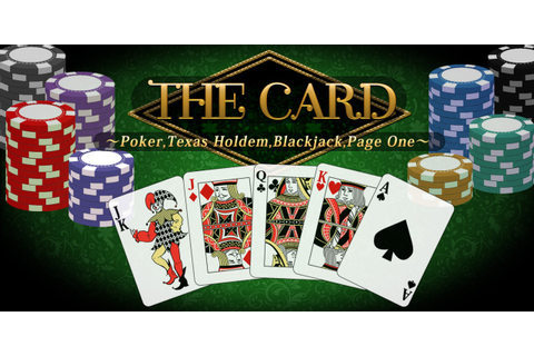 THE Card: Poker, Texas hold 'em, Blackjack and Page One ...