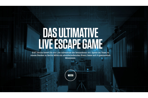EXIT Live Escape Game | Morningshow am Nachmittag » FluxFM ...