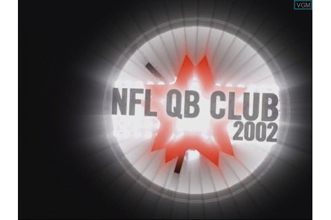 NFL QB Club 2002 for Nintendo GameCube - The Video Games ...