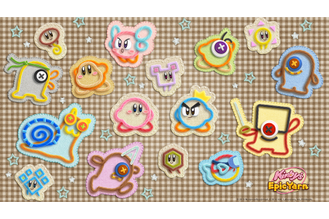 Kirby's Epic Yarn HD Wallpaper | Background Image ...