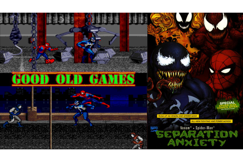 Spiderman & Venom Separation Anxiety Gameplay SNES HD ...