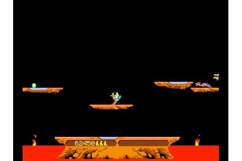 Arcade Game: Joust (1982 Williams) - YouTube