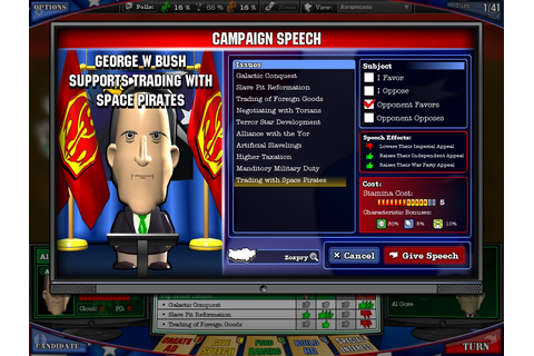 The Political Machine 2008 | bit-tech.net