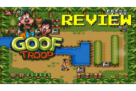 Goof Troop GAME REVIEW - YouTube
