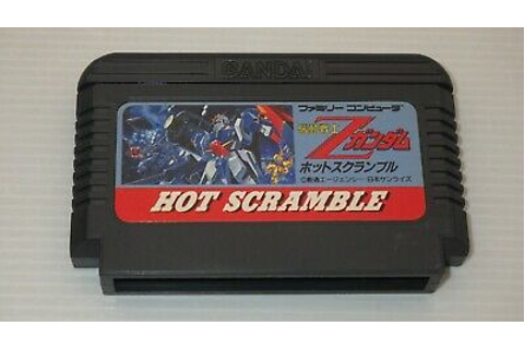 "Famicom Games FC "" Kidou Senshi Z Gundam Hot Scramble ..."