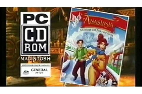 Anastasia: Adventures with Pooka and Bartok (Video Game ...
