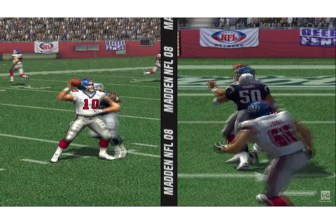 Madden NFL 08 PS2 Gameplay HD - YouTube