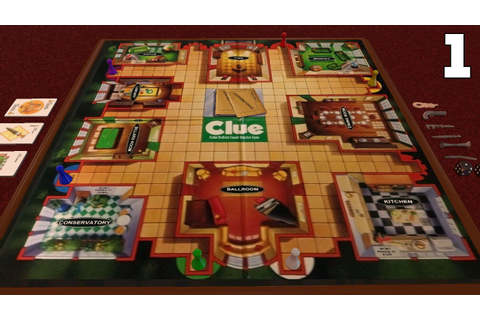 Board Game Night - Clue Part 1 - YouTube