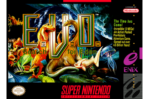 Ciência Gamer: E.V.O Search for Eden (PT-BR) - Roms Super ...