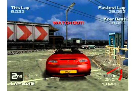 Metropolis Street Racer (Dreamcast Gameplay) - YouTube