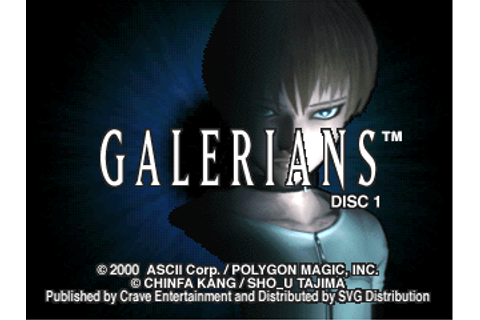 Super Adventures in Gaming: Galerians (PSX)