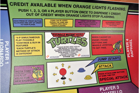 TMHT Teenage Mutant Hero Turtles CPO – Arcade Art Shop