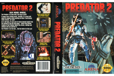 Video Game Log and History: Predator 2 (1992)