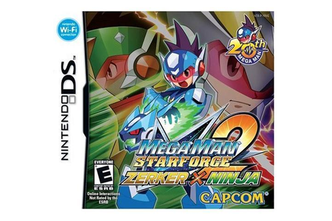Mega Man Star Force 2 Zerker X Ninja Nintendo DS Game ...