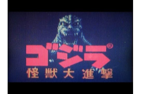 Let's Play Kaijuu-Oh Gojira Part 2 - Godzilla Vs ...