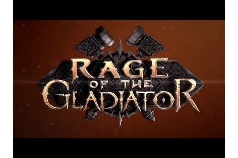 Rage of the Gladiator - In-Game Trailer - YouTube