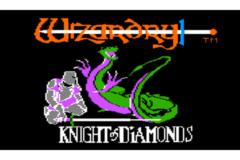 Wizardry II: The Knight of Diamonds - JDRPG -Role Playing Game