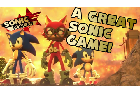 Sonic Forces WILL Be A Great Sonic Game - YouTube