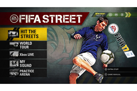 OMG FIFA STREET !!! NEW FIFA 17 GAME MODE ? - YouTube