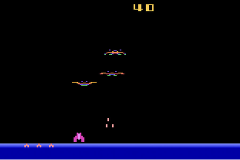 Game review: #Imagic Demon Attack for #Atari 2600