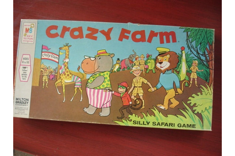 Items similar to Vintage Crazy Farm Board Game - We have a ...