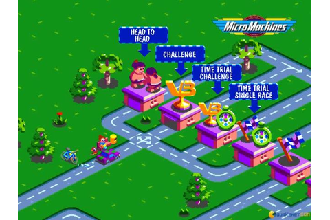 Micro Machines V3 download PC