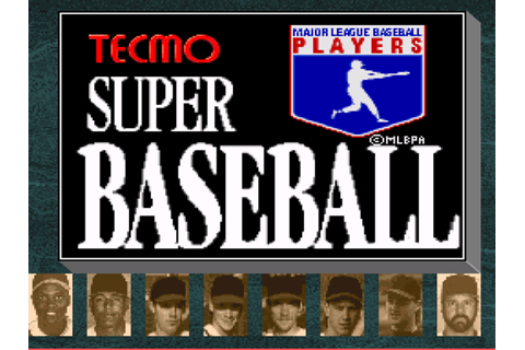 Tecmo Super Baseball Download Game | GameFabrique