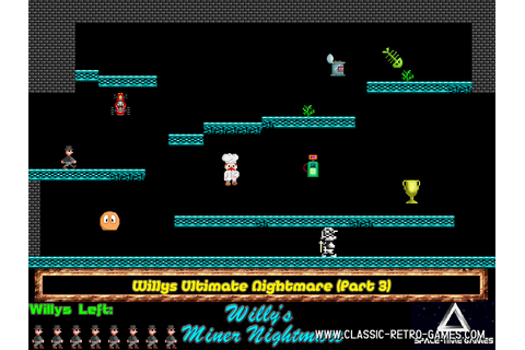 Download Jet Set Willy (Willy's Miner Nightmare) & Play ...