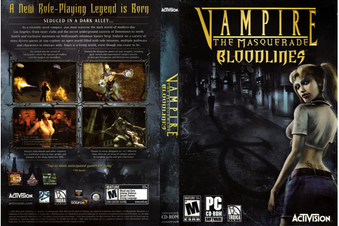 Review: Vampire The Masquerade Bloodlines (Computer ...