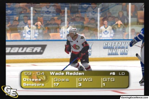 Gretzky NHL 06 Review - GamingExcellence
