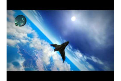 "sky diving from highest point in the game-""JUST CAUSE 2 ..."